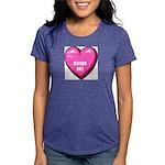 ginger-cat-FIN Womens Tri-blend T-Shirt