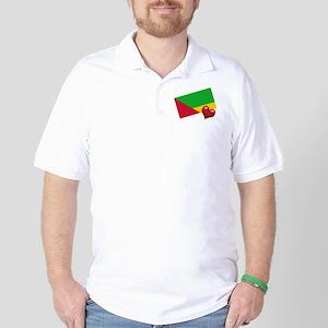 Sao Tome Principe Golf Shirt