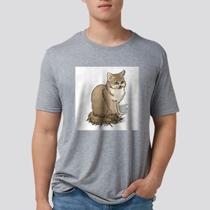 ragdoll-FIN Mens Tri-blend T-Shirt