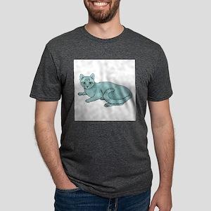 russian-blue-FIN Mens Tri-blend T-Shirt