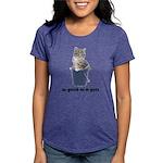 FIN-tabby-gray-good Womens Tri-blend T-Shirt