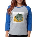 tabby-cat-1-FIN Womens Baseball Tee