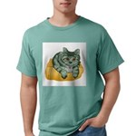 tabby-cat-1-FIN Mens Comfort Colors Shirt