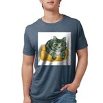 tabby-cat-1-FIN Mens Tri-blend T-Shirt