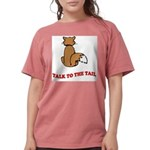cat-talk-to-the-tail Womens Comfort Colors Shi