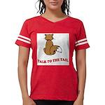 cat-talk-to-the-tail Womens Football Shirt