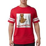 cat-talk-to-the-tail Mens Football Shirt
