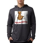cat-talk-to-the-tail Mens Hooded Shirt