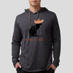 FIN-cinco-de-meow Mens Hooded Shirt