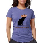 FIN-cinco-de-meow Womens Tri-blend T-Shirt