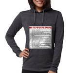Cats Are Better Than Dogs Womens Hooded Shirt