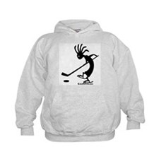 Kokopelli Hockey Player Kids Hoodie