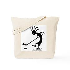 Kokopelli Hockey Player Tote Bag