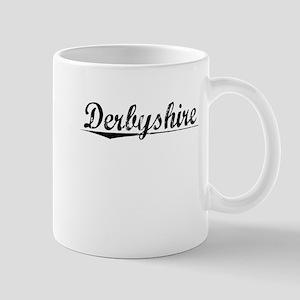 Derbyshire, Aged, Mug