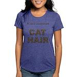 FIN-cat-hair-access... Womens Tri-blend T-Shirt