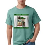 FIN-cats-house-home Mens Comfort Colors Shirt