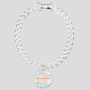 Friends TV Show Charm Bracelet, One Charm