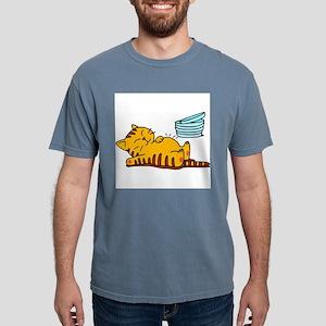 cartoon-fat-cat Mens Comfort Colors Shirt