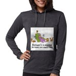 too-many-cats Womens Hooded Shirt