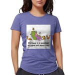 too-many-cats Womens Tri-blend T-Shirt