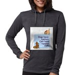 cats-support-staff Womens Hooded Shirt