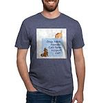 cats-support-staff Mens Tri-blend T-Shirt