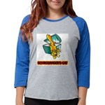 FIN-schrodingers-cat Womens Baseball Tee