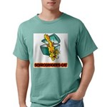 FIN-schrodingers-cat Mens Comfort Colors Shirt