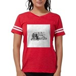 FIN-cats-playing-poker Womens Football Shirt
