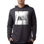 FIN-cats-playing-poker Mens Hooded Shirt