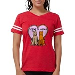 FIN-be-kind-to-animals Womens Football Shirt