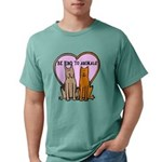 FIN-be-kind-to-animals Mens Comfort Colors Shi