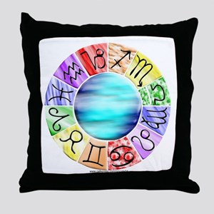 Zodiac Throw Pillow