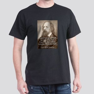 In That Last Kiss - Lord Tennyson T-Shirt