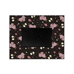 Pink Roses on Dark background Picture Frame