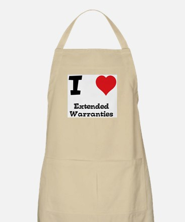 I love Extended Warranties BBQ Apron