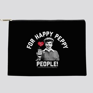 Lucy Happy Peppy People Makeup Pouch
