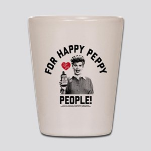 Lucy Happy Peppy People Shot Glass