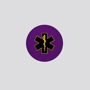 """EMS Mourning Button 1""""/lapel"""