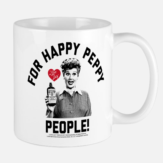 Lucy Happy Peppy People Mug