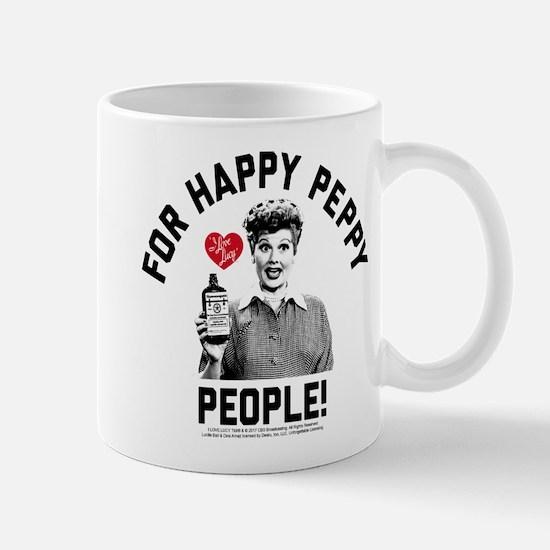 Lucy Happy Peppy People Mug