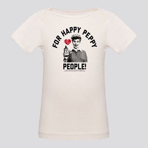 Lucy Happy Peppy People Organic Baby T-Shirt