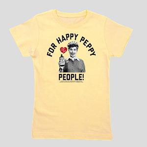 Lucy Happy Peppy People Girl's Tee