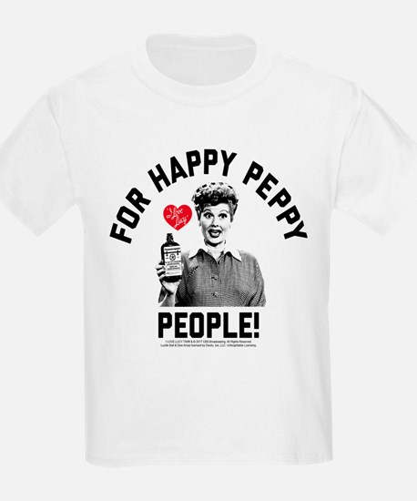 Lucy Happy Peppy People T-Shirt