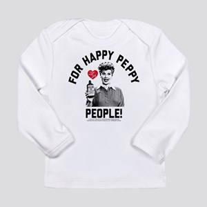 Lucy Happy Peppy People Long Sleeve Infant T-Shirt