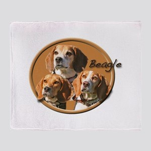 Beagles (3) Throw Blanket