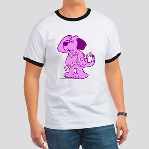 The Pink Puppy Ringer T