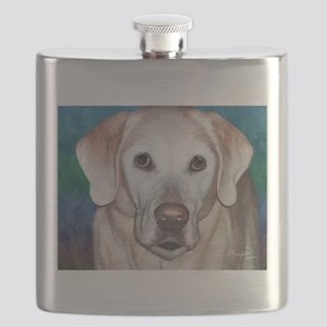 Yellow Lab Flask