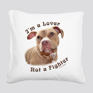 I'm a Lover Square Canvas Pillow