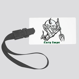 Cary Imps B/W Large Luggage Tag